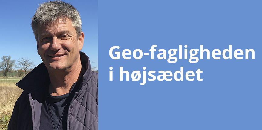 Geo-fagligheden i højsædet