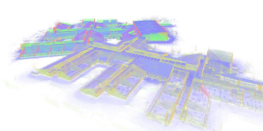 Eksisterende  bygninger i  3D – facility  management