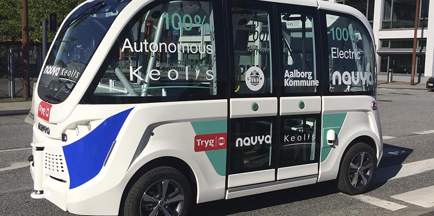 Førerløse busser skal mobilisere Aalborg Øst